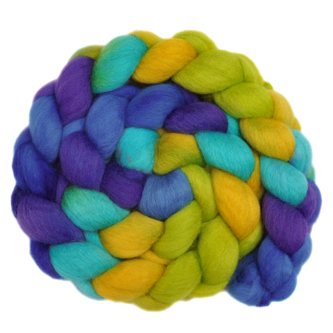 BFL Wool Roving - Summer Smile 2 - 4.0 ounces