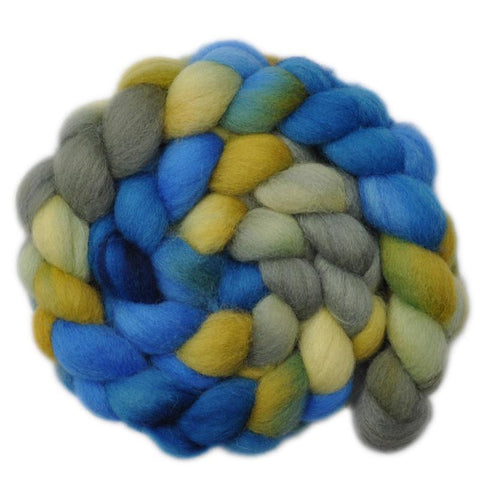 Cheviot Wool Roving - All Hands On Deck - 4.1 ounces