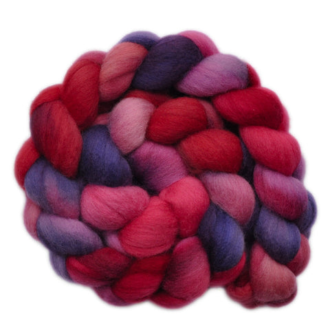 Polwarth Wool Roving - Heartstrings 1 - 4.1 ounces