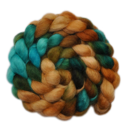 Wensleydale Wool Roving - Little Secrets - 4.0 ounces