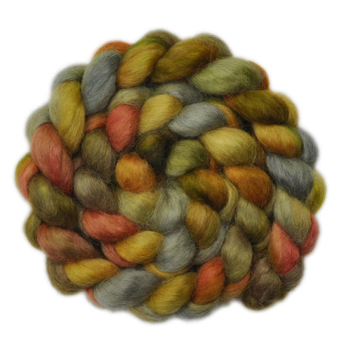 Wensleydale Wool Roving - Opening Gate - 4.0 ounces