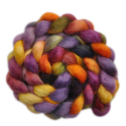Wensleydale Wool Roving - Singalong - 4.0 ounces