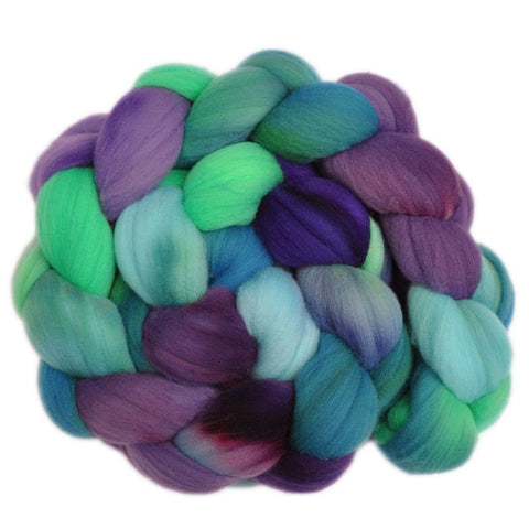 Rambouillet Wool Roving - Pleasant Bustle 1 - 4.2 ounces