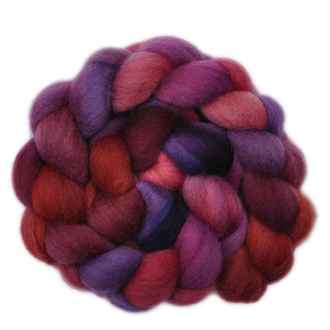 Corriedale Cross Wool Roving - Blood Brothers 2 - 4.0 ounces