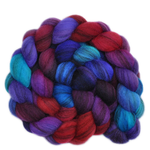 BFL Humbug Wool Roving - Eloquent Murmurs 2 - 4.1 ounces