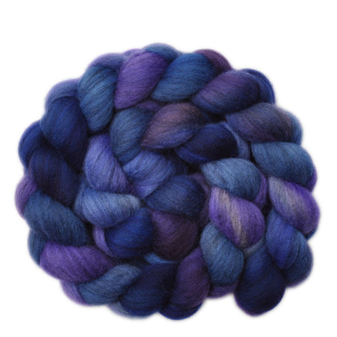 Gray Merino Wool Roving 23 Micron - Heavenly Aspect 1 - 4.0 ounces