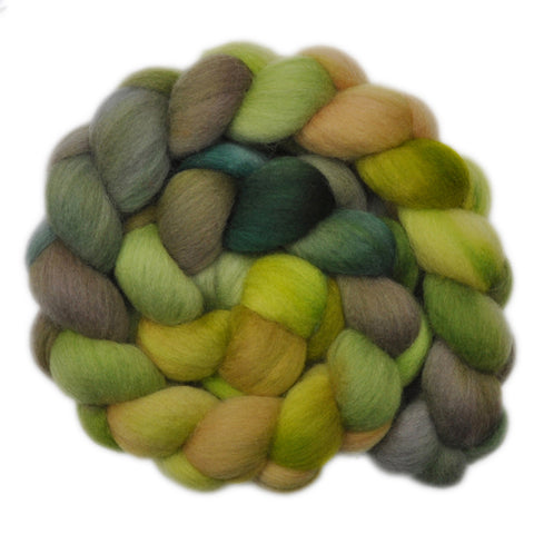 Polwarth Wool Roving - Pastoral Farms - 4.2 ounces