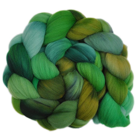 Rambouillet Wool Roving - In Full Leaf 2 - 4.1 ounces
