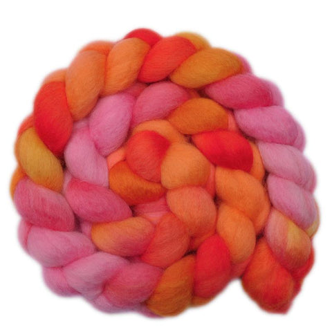 BFL Wool Roving - Dreaming - 4.1 ounces