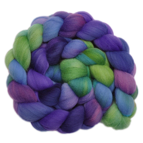 21.5 micron Merino Wool Roving - Listening Carefully 1 - 4.1 ounces