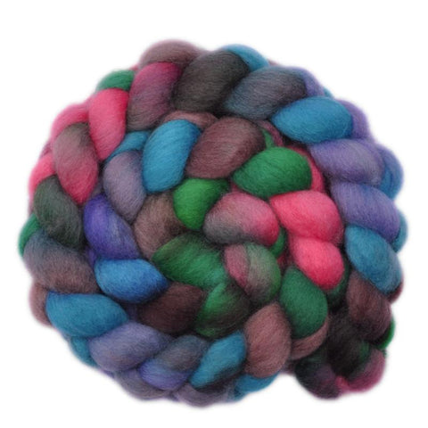 BFL Wool Roving - Curious Child 1 - 4.1 ounces