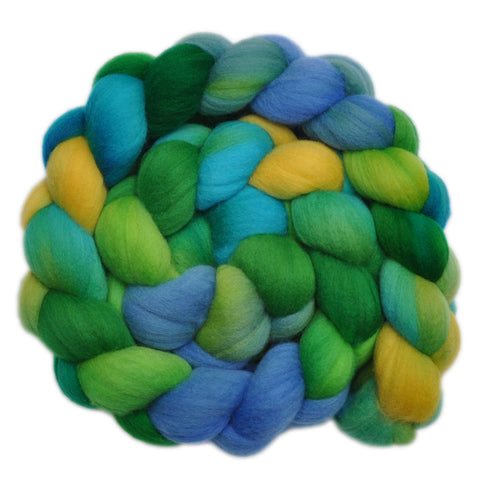 Merino Wool Roving, 19 micron - Lost World 1 - 4.2 ounces