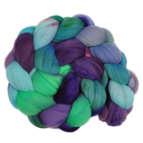 Rambouillet Wool Roving - Pleasant Bustle 2 - 4.1 ounces