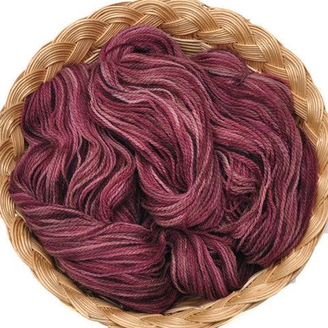 Peruvian Highland Wool Yarn, Fingering Weight, 440 yards - Burgundy Too