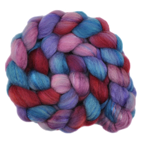 BFL Wool / Trilobal Nylon 70/30% Roving - Innocent Gesture 1 - 3.8 ounces