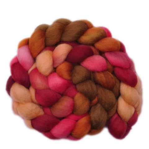 BFL Wool Roving - Stone's Throw - 4.1 ounces
