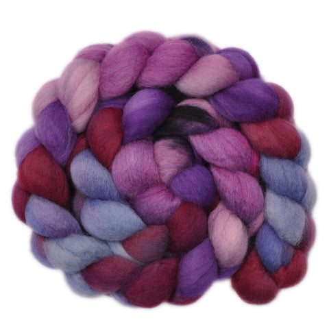 BFL Wool Roving - Asteroid - 4.1 ounces