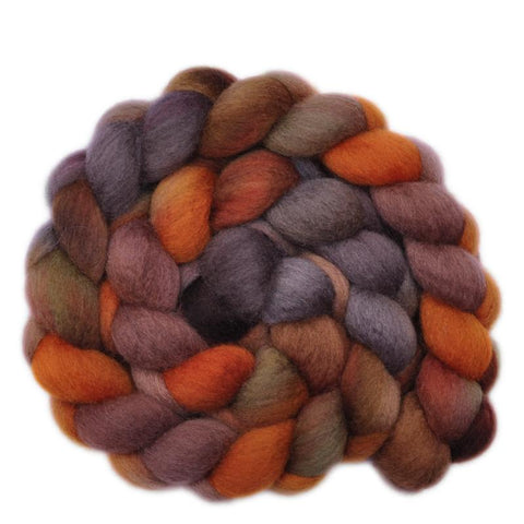 BFL Wool Roving - Call of the Wild - 4.1 ounces