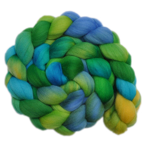 Merino Wool Roving, 19 micron - Lost World 2 - 4.2 ounces