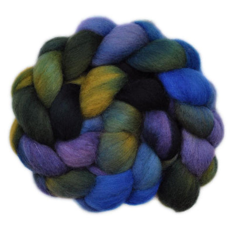 Corriedale Cross Wool Roving - Gone Astray 2 - 4.1 ounces