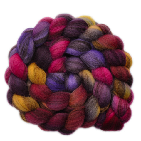 BFL Humbug Wool Roving - Fill the Bill 2 - 4.1 ounces