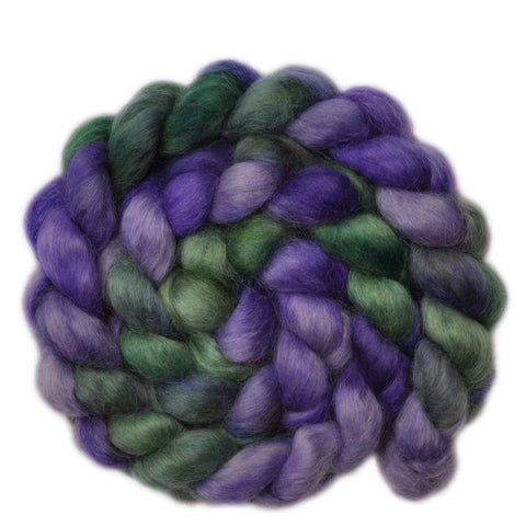 Wensleydale Wool Roving - Quiet Triumph - 4.0 ounces