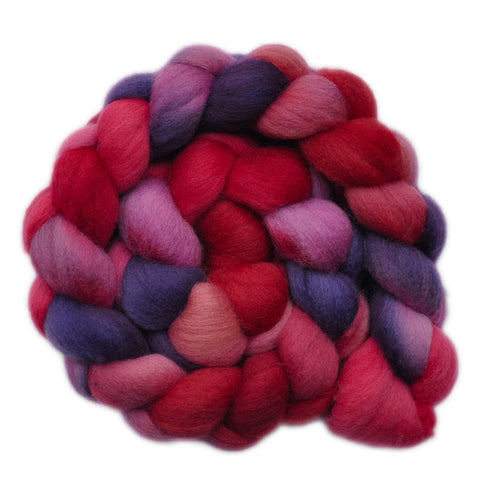 Polwarth Wool Roving - Heartstrings 2 - 4.0 ounces