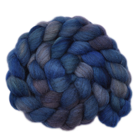 Oatmeal BFL Wool Roving - Thunderstorm 2 - 3.9 ounces