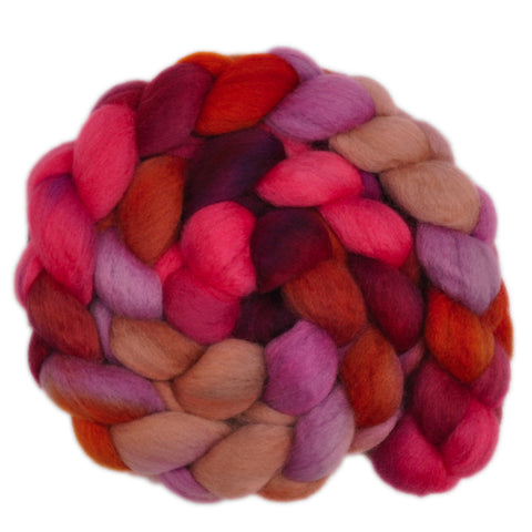 BFL Wool Roving - Hasty Decision 1 - 4.1 ounces