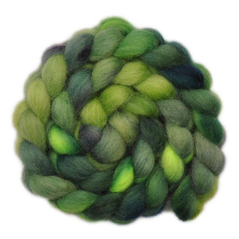 Icelandic Wool Roving - Frog Trail - 3.9 ounces