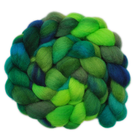 BFL Wool Roving - Amazon River 2 - 4.1 ounces