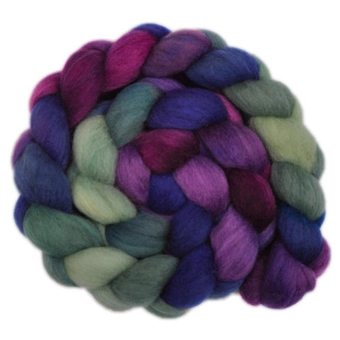 South American Wool Roving - Mystic Energy 1 - 4.1 ounces