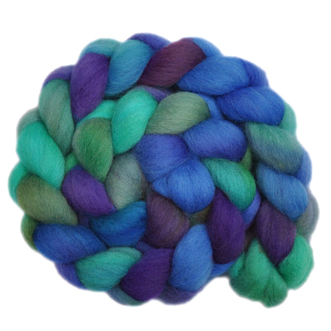 UK Organic Wool Roving - Low Boiling Point 1 - 3.9 ounces