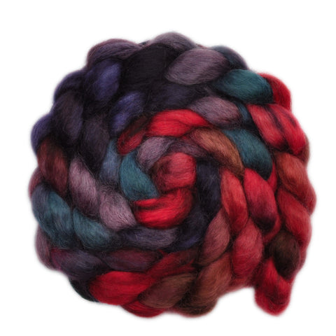 Teeswater Wool Roving - Thick as Thieves - 4.0 ounces