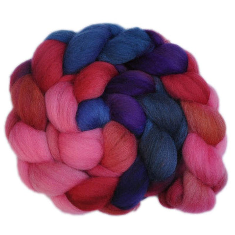 Corriedale Cross Wool Roving Destash - Kindly Fellow 1 - 4.3 ounces