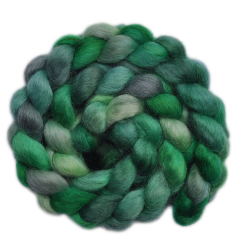 Wensleydale Wool Roving - Engrossing - 4.1 ounces