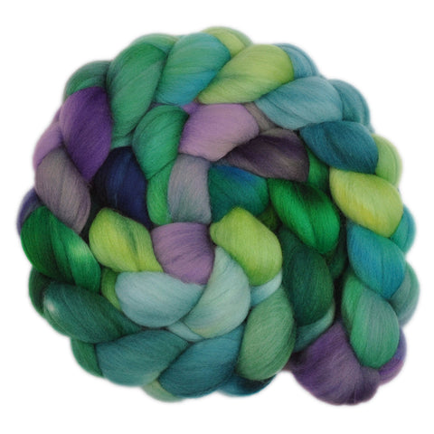21.5 micron Merino Wool Roving - Underwater Palace 1 - 4.0 ounces