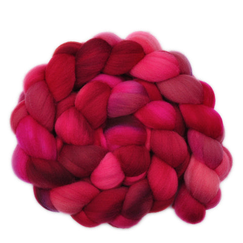 Targhee Wool Roving - Axial Fire 1 - 4.1 ounces