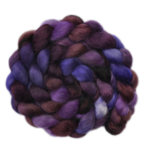 Wensleydale Wool Roving - Man of Means - 4.1 ounces