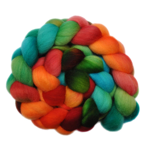 Polwarth Wool Roving - Sprightly Dance - 4.3 ounces