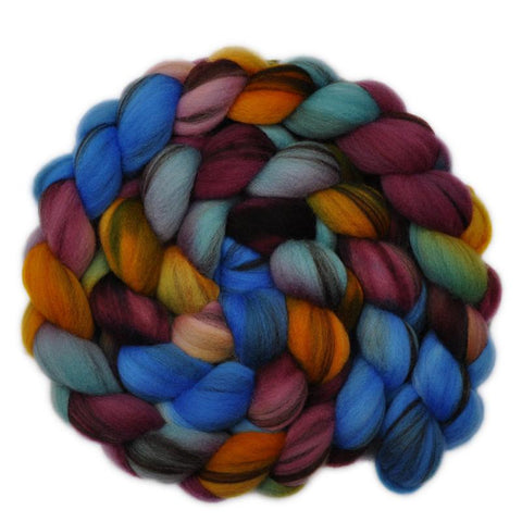 Merino Wool Roving 21.5 micron - Over One's Head - 4.2 ounces