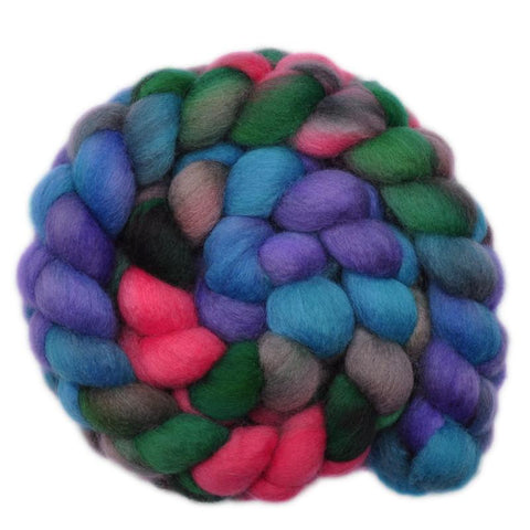 BFL Wool Roving - Curious Child 2 - 4.0 ounces