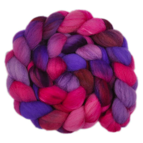 Silk / Shetland 30/70% Wool Roving - Dreaming Princess 1 - 4.2 ounces