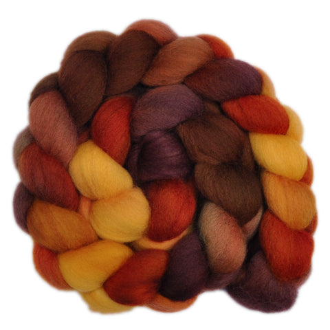 Corriedale Cross Wool Roving - Old Barn 1 - 4.3 ounces
