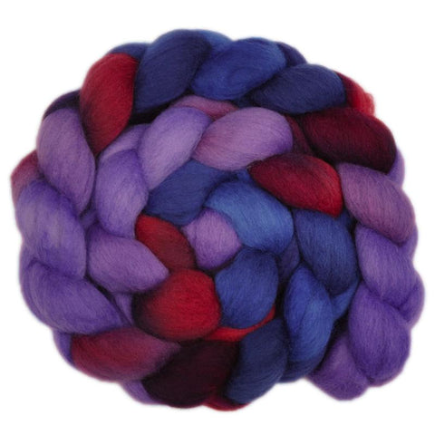 South American Wool Roving - Gracious Host 1 - 4.1 ounces