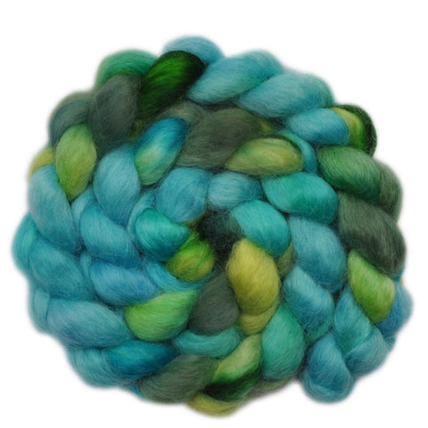 Wensleydale Wool Roving - Clear Spring - 4.1 ounces
