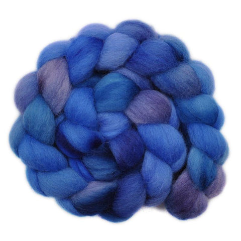 Corriedale Cross Wool Roving - Waning Moon 1 - 4.0 ounces
