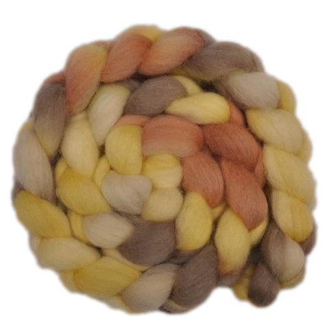 Finn Wool Roving - Vellum 2 - 4.0 ounces