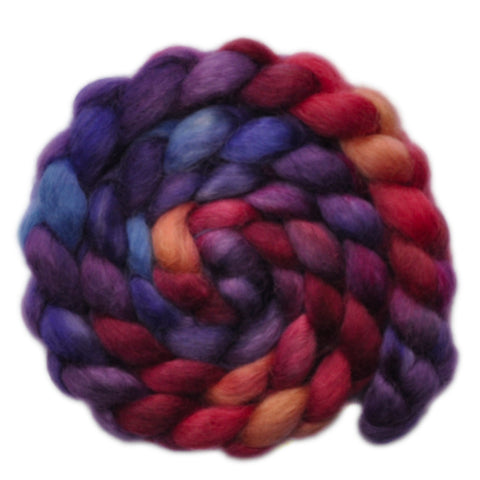 Teeswater Wool Roving - Rushing About - 3.9 ounces