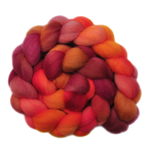 Polwarth Wool Roving - Cat o' Nine Tails - 4.2 ounces